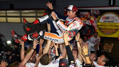 Marquez: 'Title is to thank Honda for letting me bring all my people to the team'