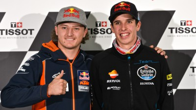 Marquez and Miller analyse championship finale