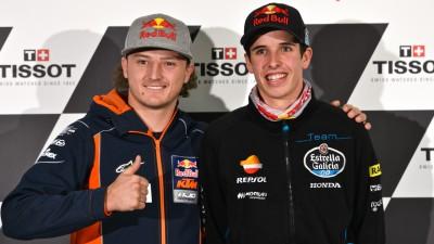 Márquez y Miller analizan el final del campeonato