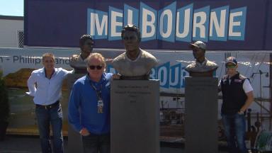 Three Australian Grand Prix stars honoured at the Island