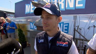 Stoner habla de sus nuevos tests con Honda y de los logros de Márquez