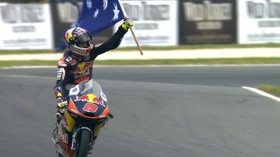 Miller bate a Márquez en su Gran Premio de casa
