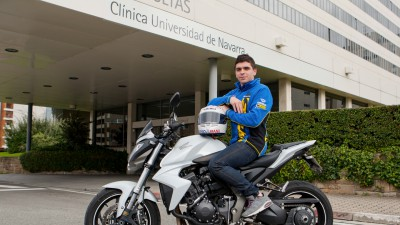 Alex Mariñelarena finaliza con éxito su rehabilitación