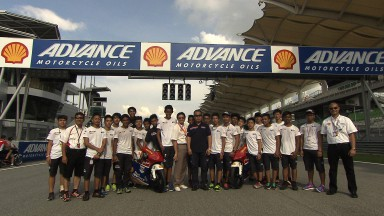 A Sepang si decide il titolo della Shell Advance Asia Talent Cup