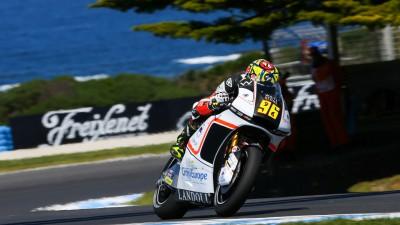 Louis Rossi retrouve les points en Australie