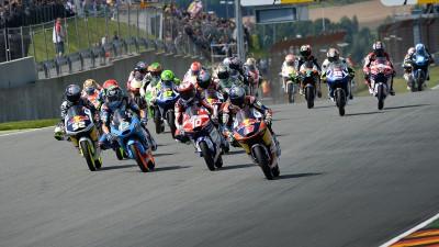 Cosí la griglia della Moto3™ nel 2015