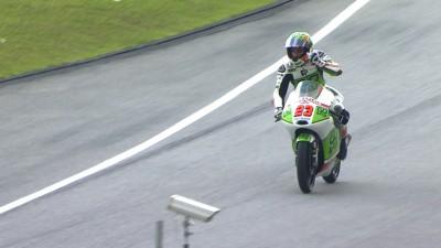 Antonelli klassiert sich an der Spitze der Moto3™