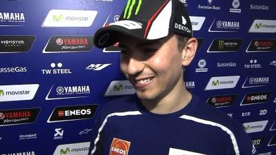 Lorenzo : « Je pense que nous pouvons nous battre pour la victoire »