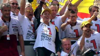 Rabat holt Moto2™ Titel in Malaysia während Viñales das Rennen gewinnt
