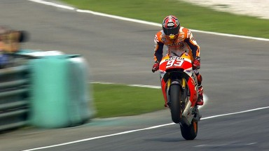 Marquez vince a Sepang davanti alle Yamaha