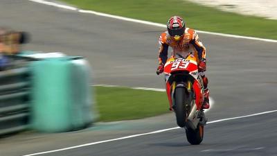 Fantastisches Sepang-Rennen geht an Marquez