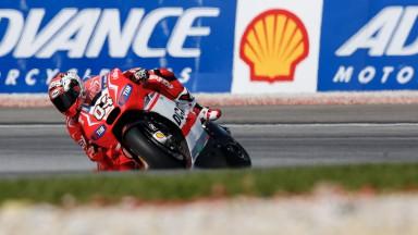 Gara sfortunata per i piloti del Ducati Team a Sepang
