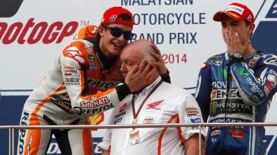 M.マルケスが年間最多優勝タイ記録の12勝に到達