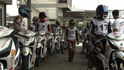 Fin de la sélection pour la Shell Advance Asia Talent Cup à Sepang