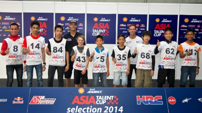 Riders selected for 2015 Shell Advance Asia Talent Cup