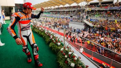 M.マルケス、レジェンドライダーのシーン&ストーナーの記録まであと1勝