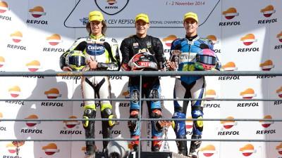 FIM・CEV・レプソル・インターナショナル・チャンピオンシップ:クアルタラロ&ラッフィンが初代王者に輝く