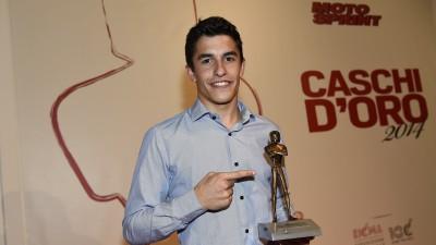 Marquez Casco d'Oro e Top Rider 2014