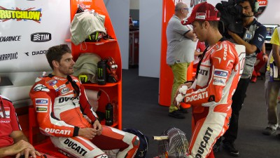 Dovizioso and Crutchlow gear up for last race as teammates