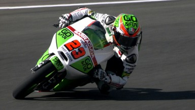 Antonelli in front in Friday sessions
