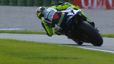 First pole for Rossi since Le Mans 2010