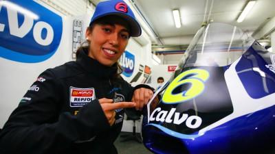 María Herrera se une al Calvo Team para las dos próximas temporadas