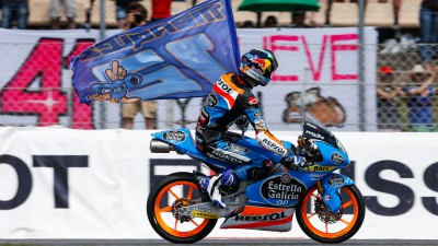 How Alex Marquez matured to take the Moto3™ crown in 2014