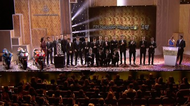 FIM Awards Ceremony rundet MotoGP™ Saison 2014 in Valencia ab