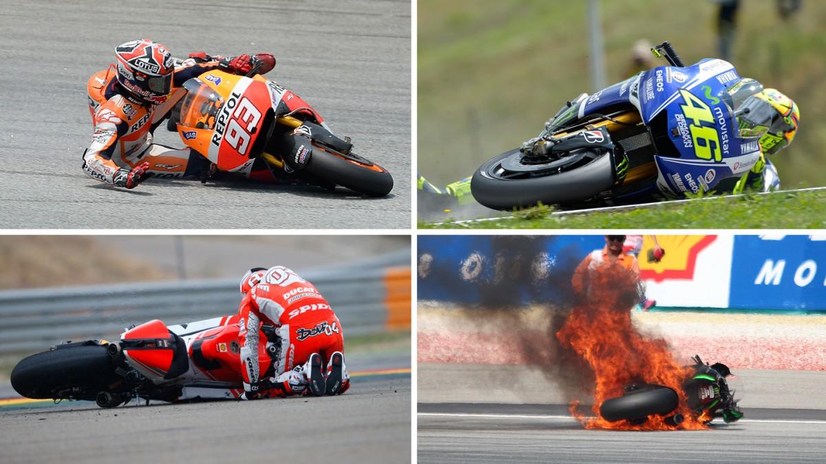 MotoGP™ 2014 crash report – the analysis