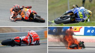 Der MotoGP™ 2014 Unfallreport – die Analyse