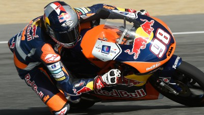 Hanika quickest of Moto3™ riders at Ricardo Tormo circuit