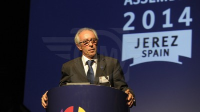 Vito Ippolito wins a third term as FIM President