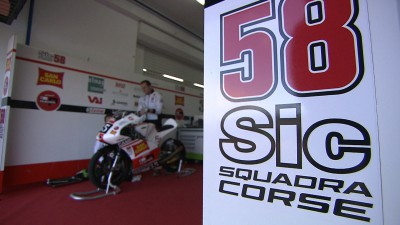 Paolo Simoncelli: 'This team gives me strength'