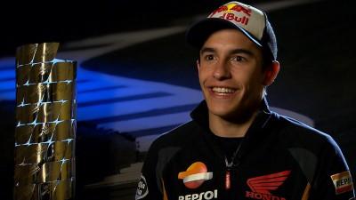 ワールドチャンピオンインタビュー~2014年MotoGP™クラス王者マルク・マルケス