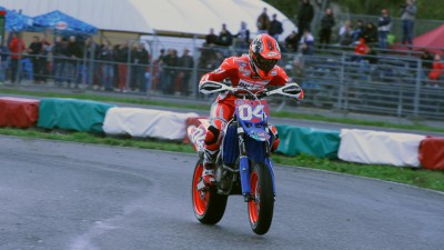 Sic Supermoto Day 2014: Dovizioso finishes second on Saturday