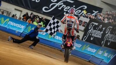 Marquez chiude il 2014 con la vittoria nel Superprestigio DTX