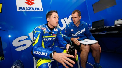 Rest required for Aleix Espargaro after knee ligament injury