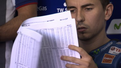 Lorenzo mène la première journée du Test de Valence