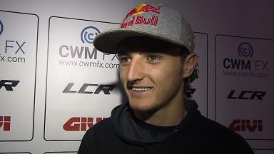 Miller desperta muito interessa na estreia no MotoGP™