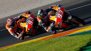 Amplia repercusión del test de los hermanos Márquez en Valencia