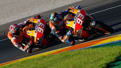 Marquez brothers grab headlines with joint MotoGP™ test