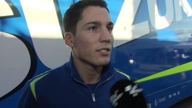 Los avances en el test de Valencia satisfacen a Suzuki
