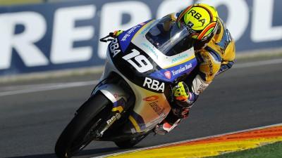 FIM CEV Repsol: Rodrigo en Moto3™, Vierge en Moto2™ y Barragán en Superbike, pole positions en Valencia