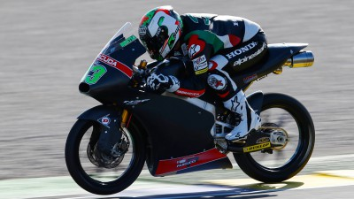 Bastianini pleased after initial contact with new Honda