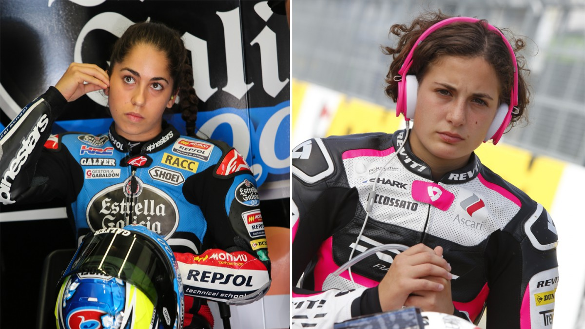 Motogp Gets Feminine Touch With Carrasco And Herrera