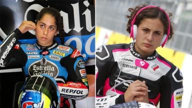 MotoGP™ goes Feminin: Carrasco und Herrera