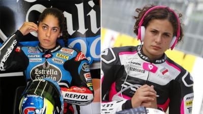 Carrasco et Herrera, les deux filles du Moto3™ pour 2015