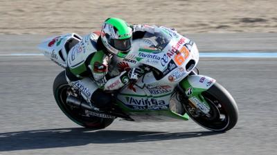 Di Meglio termine l'année sur un test positif à Jerez