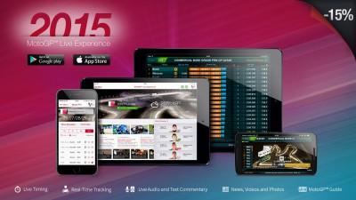 L'App MotoGP™ Live Experience 2015 proposée à -15%