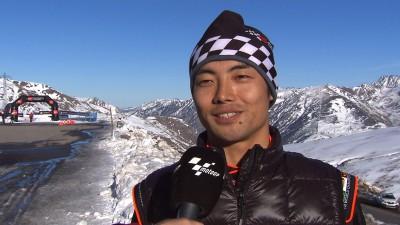 Aoyama, premier contact avec les pneus Michelin